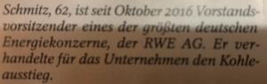 RWE gegen Kohle Energie
